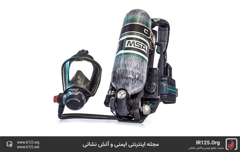 دستگاه تنفسی آتش نشانی مدار باز