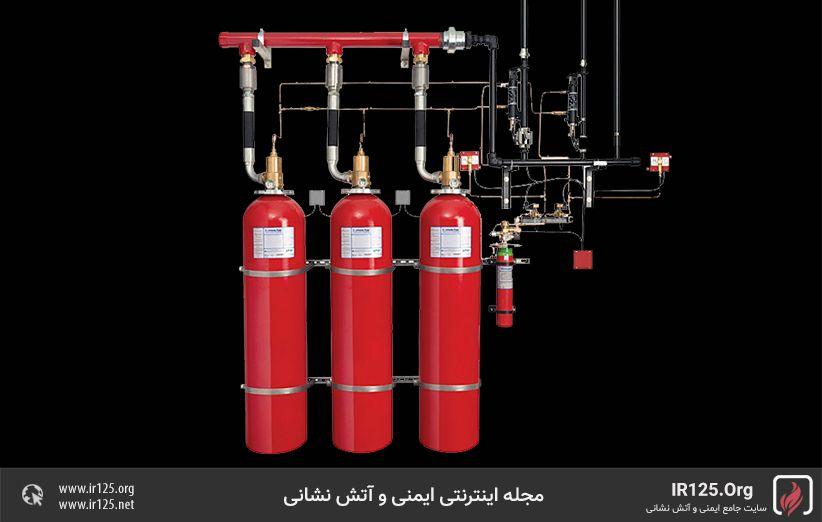 انواع اطفاحریق گاز